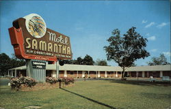 Motel Samantha Postcard