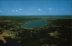 Aerial View of Town Cove
