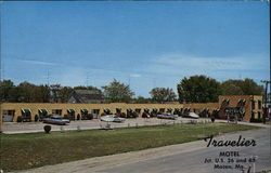 Travelier Motel Jct. U.S. 36 and 63 Postcard