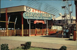 Seaside Park where children of all ages enjoy themselves by the sea.