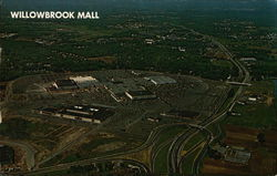 Aerial View of Willowbrook Mall