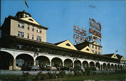 Motel Auberge Du Blvd, Laurier Inc. Postcard
