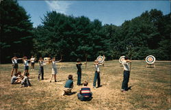 Y.M.C.A. Camp Hazen - Archery