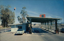 Arizona Checking Station - View looking toward the California Border