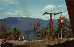 Gondola Cars on Loon Mountain