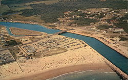 Aerial View of Beach and Beachway - Ideal for Bathing and Fishing