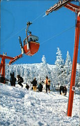 Ski Lift in Stowe, Vermont