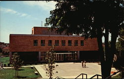 Student Union Building at State College Postcard