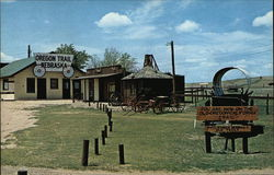 Old Oregon Trail Trading Post - Site of Pioneer Wagon Trails over 100 years old