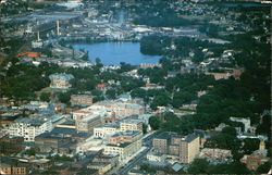 Aerial View of Pittsfield, Massachusetts
