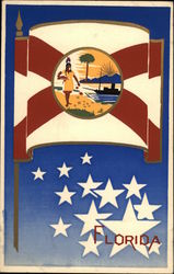 State Flag of Florida Serigraph