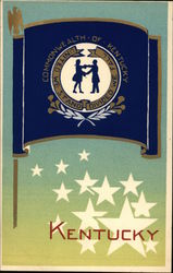 Kentucky State Flag Serigraph