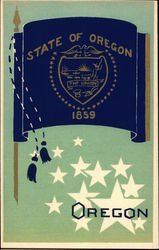 State Flag of Oregon Serigraph