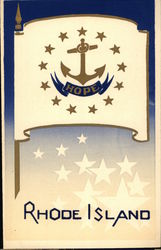 Rhode Island State Flag Serigraph