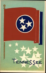 Tennessee State Flag Serigraph
