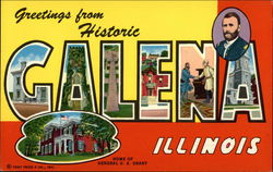 Greetings from Galena Postcard