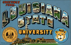 Greetings from Louisiana State University