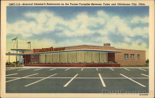 Howard Johnson's Restaurant on the Turner Turnpike Oklahoma