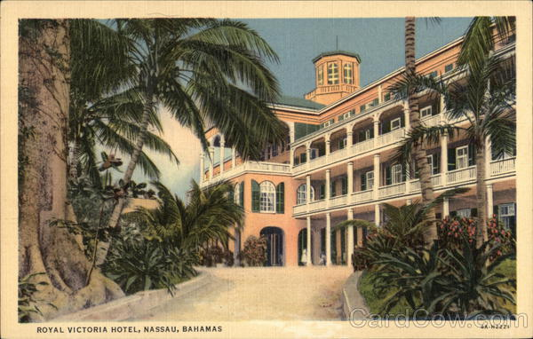 Royal Victoria Hotel Nassau Bahamas Caribbean Islands