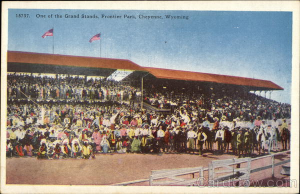 One of the Grand Stands, Frontier Park Cheyenne Wyoming