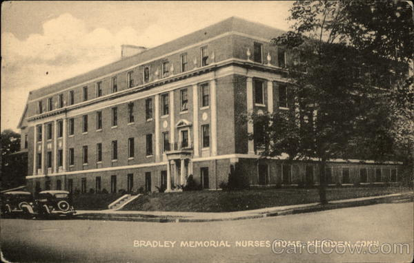 Bradley Memorial Nurses Home Meriden Connecticut