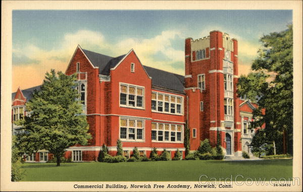 Commercial Building, Norwich Free Academy Connecticut