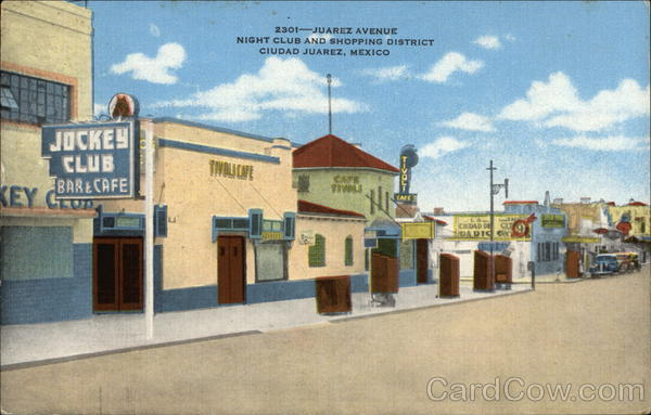 2301-Juarez Avenue, Night Club and Shopping District Mexico