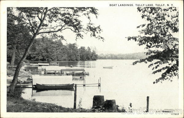 Boat Landings, Tully Lake New York