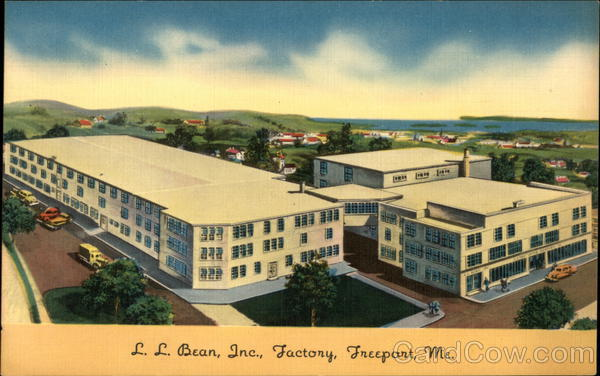 LL Bean, Inc. Factory Freeport Maine