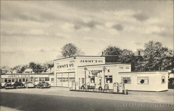 Jimmy's Gas Station and Diner Auburn Maine
