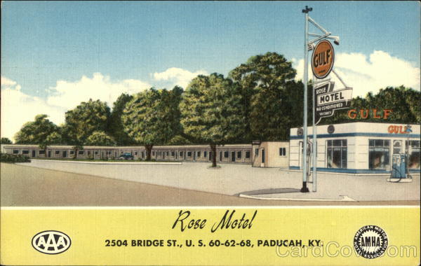 Rose Motel - 2504 Bridge Street Paducah Kentucky