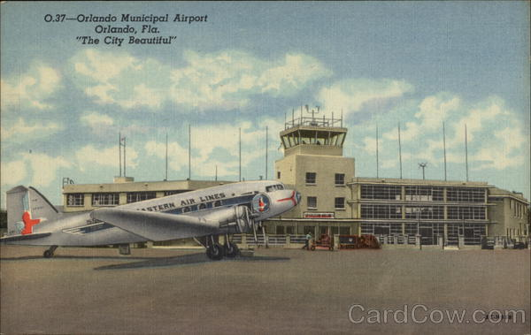 Orlando Municipal Airport in The City Beautiful Florida