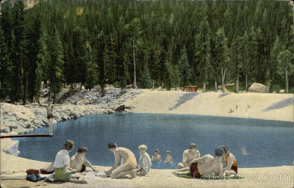 Swimming Pool at Lodgepole California Sequoia & Kings Canyon National Parks