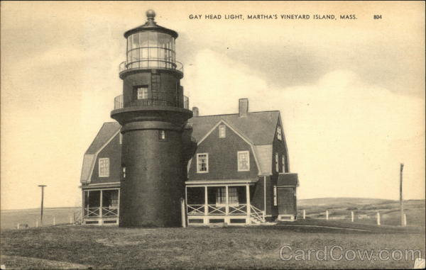 Gay Head Light, Martha's Vineyard Massachusetts Lighthouses