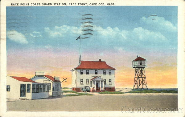 Race Point Coast Guard Station on Cape Cod Provincetown Massachusetts