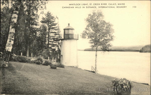Whitlock Light Calais Maine Lighthouses