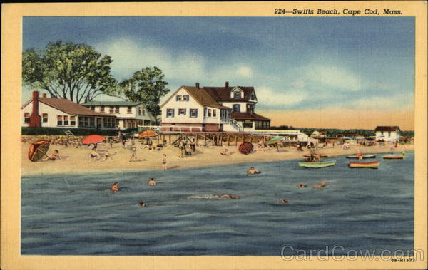 Water View of Swifts Beach Wareham Massachusetts
