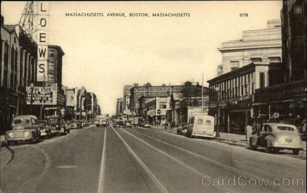 Massachusetts Avenue View Boston