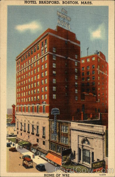 Hotel Bradford - Located in the Heart of the City Boston Massachusetts