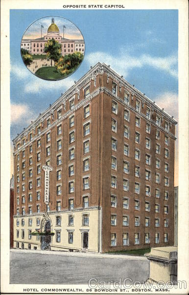 Hotel Commonwealth Boston Massachusetts