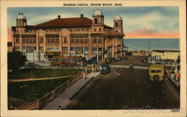Street View of Moorish Castle Revere Beach Massachusetts