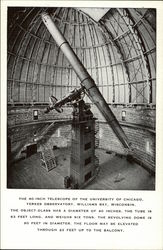 The 40-inch Telescope of the University of Chicago, Yerkes Observatory