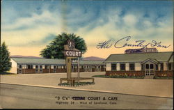 3 C's Cedar Court & Cafe Postcard
