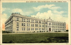 Boys' Dormitory, Texas Technological College