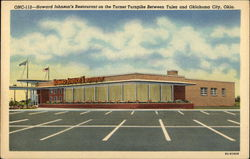 Howard Johnson's Restaurant on the Turner Turnpike