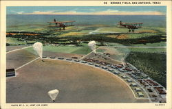 Brooks Field Postcard