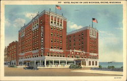 Hotel Racine on Lake Michigan