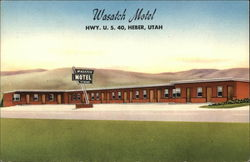 Wasatch Motel, Hwy. U.S. 40