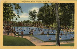 Tempe Beach, Public Swimming Pool