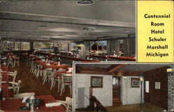 Centennial Room at Hotel Schuler Postcard